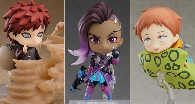 Gaara, Sombra e King in versione Nendoroid
