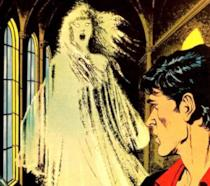 La copertina dell'albo di Dylan Dog Il fantasma di Anna Never