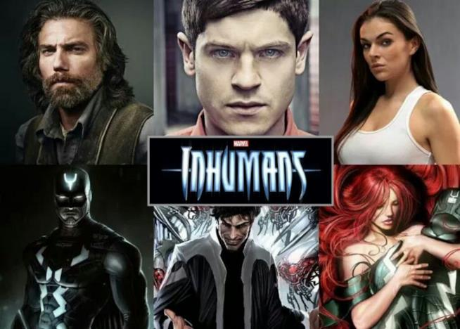 Con e senza il costume! Ecco i protagonisti principali di Inhumnas