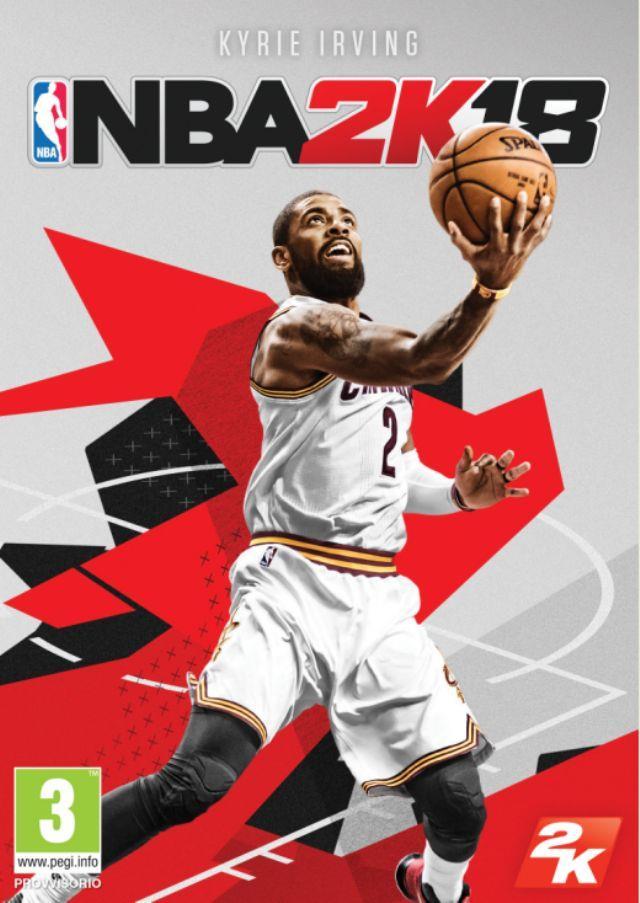 Kyrie Irving sulla copertina di NBA 2K18