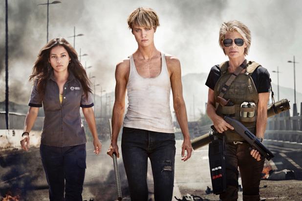 Il cast di Terminator: Dark Fate