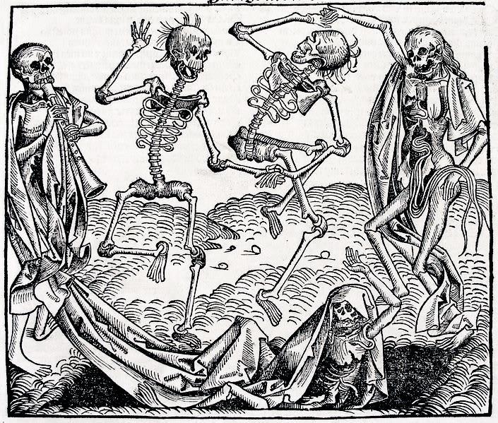 Danza macabra di Hans Holbein