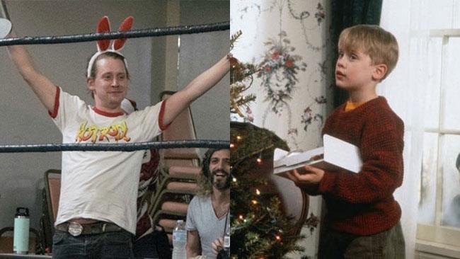 Macaulay Culkin oggie  in una scena di Mamma, Ho Perso l'Aereo