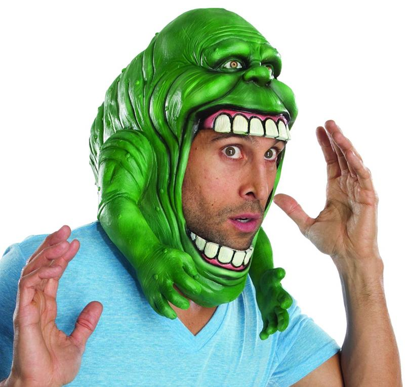 Copricapo Ghostbusters in versione Slimer, color verde