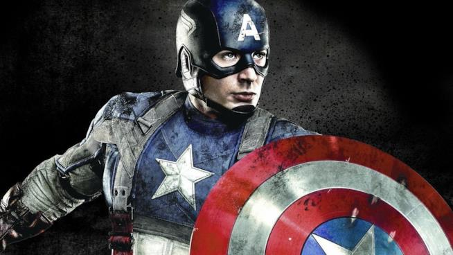 Captain America nel poster di Civil War