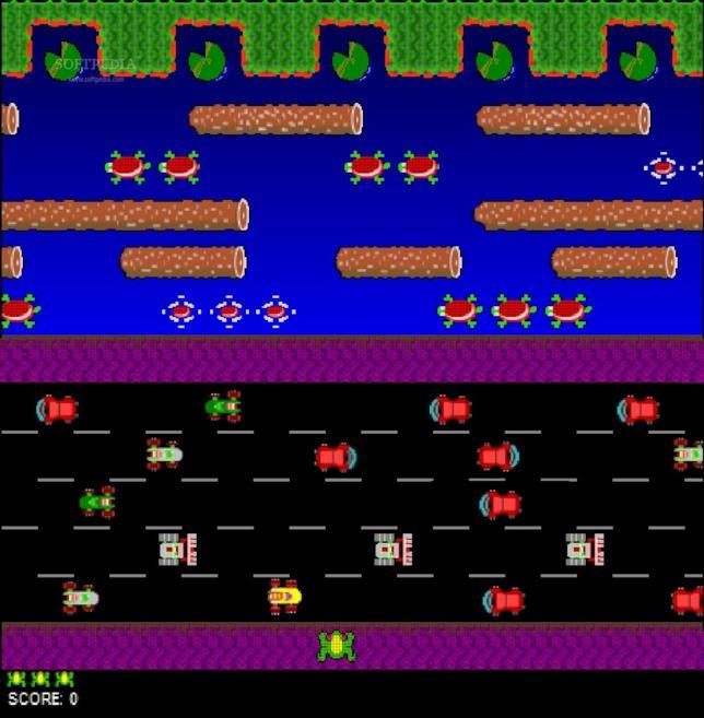Il gioco Frogger