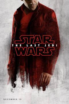 Poe Dameron nel character poster di Star Wars - Gli ultimi Jedi