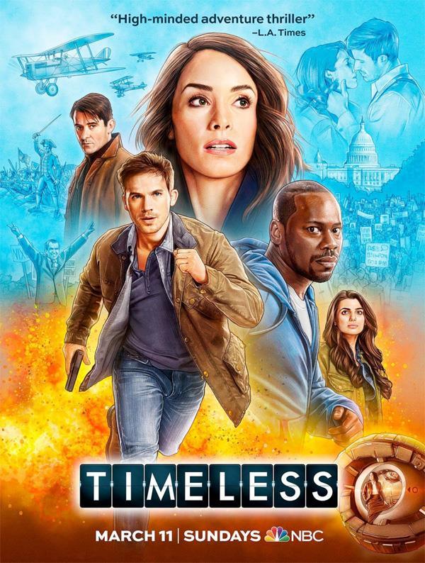 La seconda stagione di Timeless