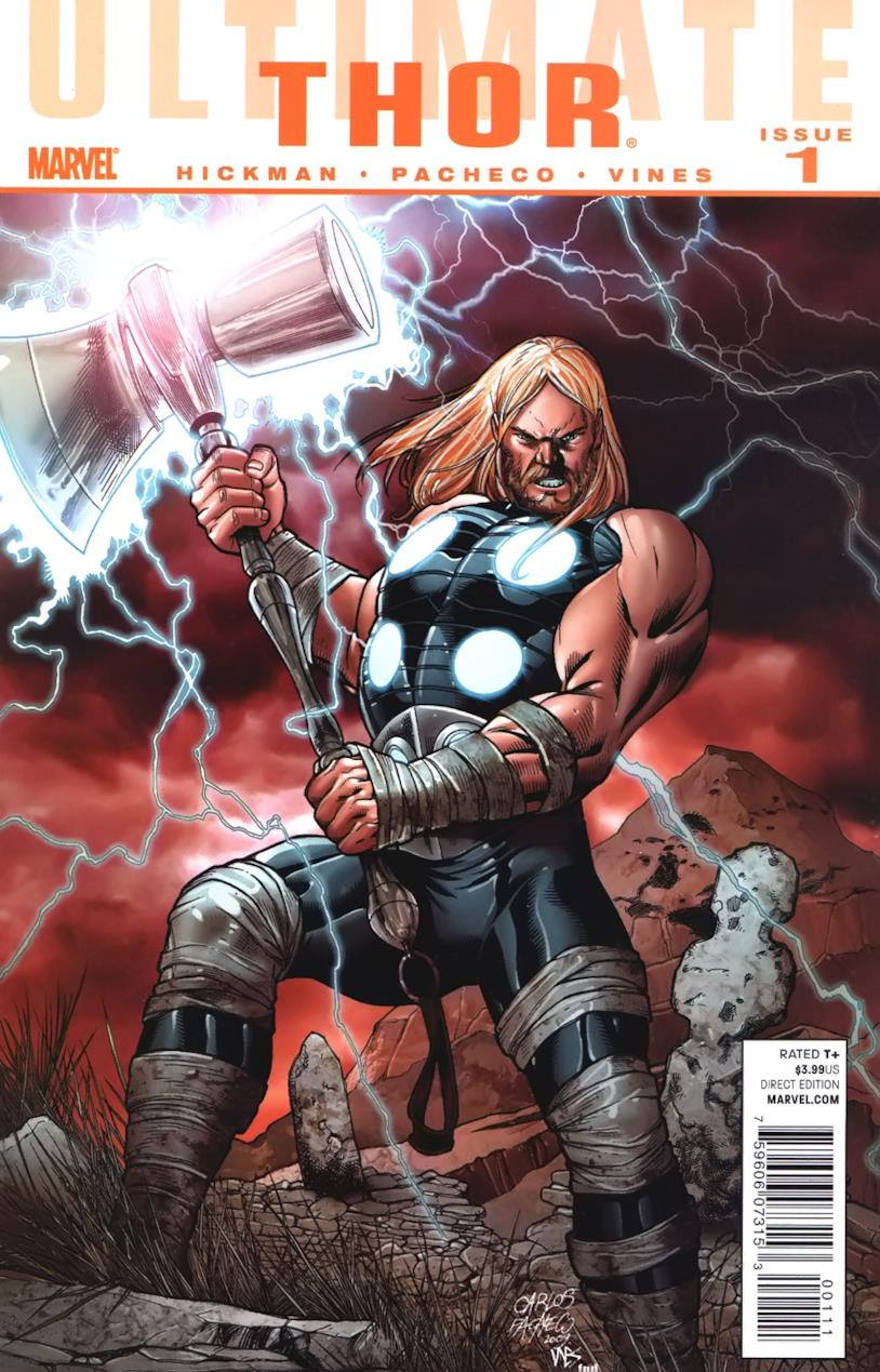 Ultimate Thor #1 cover