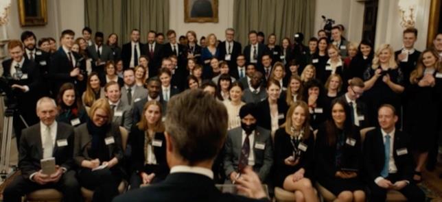 Il primo ministro fa un discorso nel sequel di Love Actually