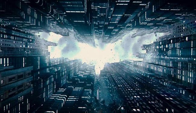 Immagine promozionale della trilogia del cavaliere oscuro
