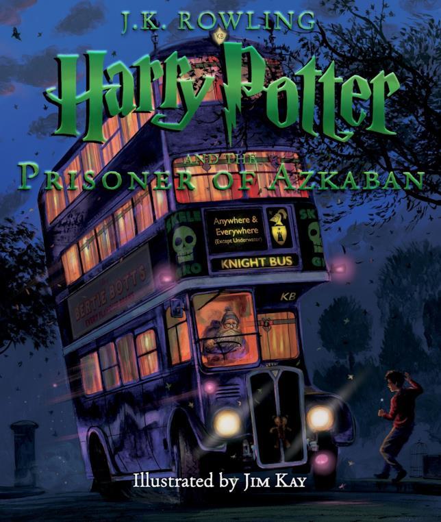 La nuova edizione del terzo volume di Harry Potter