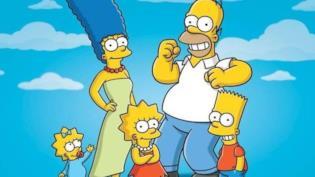 La famiglia Simpson insieme nella stessa foto