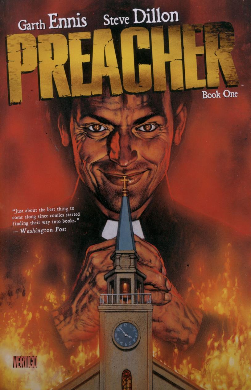 La cover di Preacher Book #1