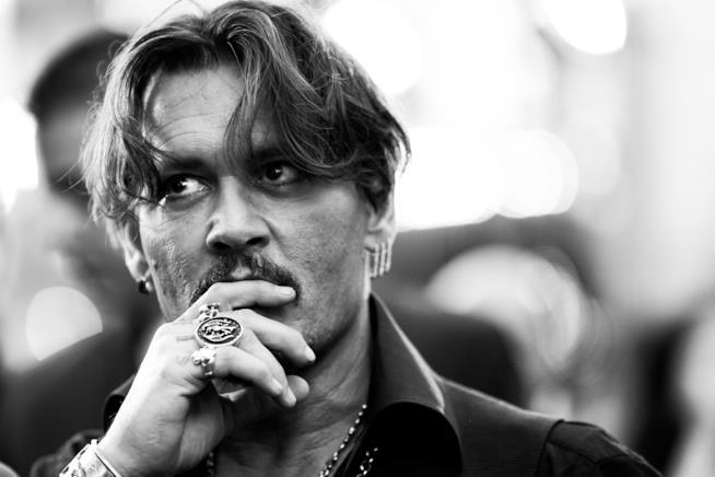 Johnny Depp, attore e produttore statunitense