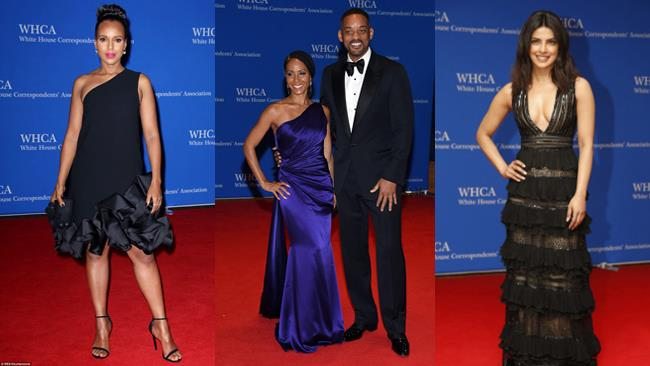 Kerry Washington, Priyana Chopra e Will Smith