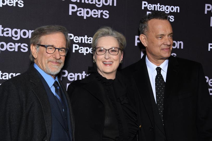 I protagonisti e il regista di The Post
