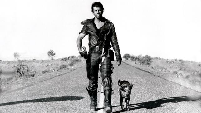 Mel Gibson in una scena de Il guerriero della strada
