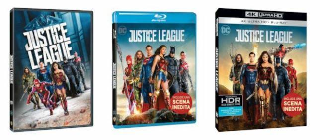 Le edizioni italiane di Justice League
