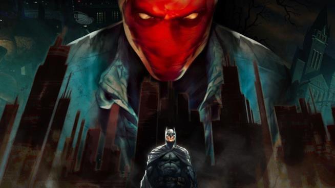 Un artwork ufficiale di Cappuccio Rosso dal sito DC Comics