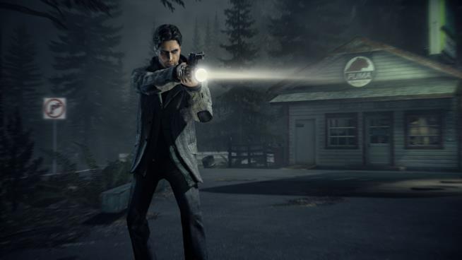 Un'immagine dal videogioco Alan Wake