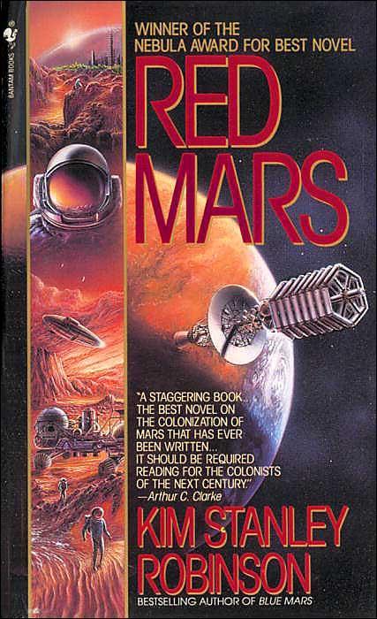 Il Rosso Di Marte sbarca nelle librerie italiane