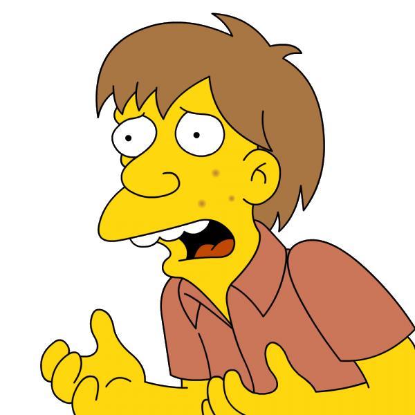 Il ragazzo del fast-food dei Simpson