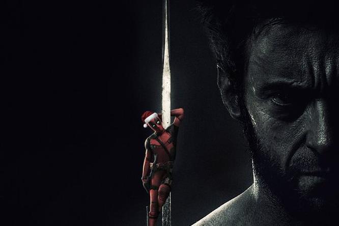 Deadpool con Wolverine per Natale