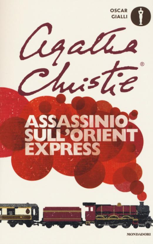 La copertina dell'edizione italiana di Assassinio sull'Orient Express