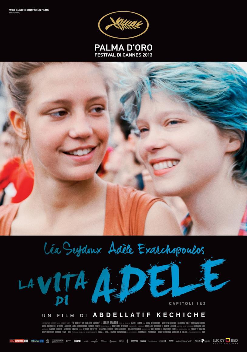 Il poster de La vita di Adele