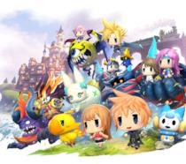 Tutti i personaggi di World of Final Fantasy in versione superdeformed