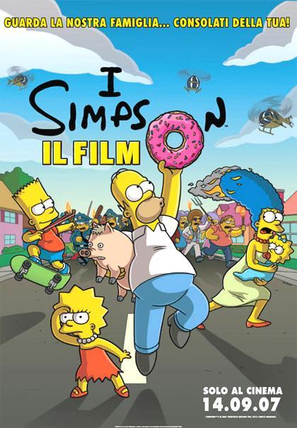 Il poster ufficiale de I Simpson - Il Film