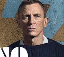 Primo piano di Daniel Craig come James Bond