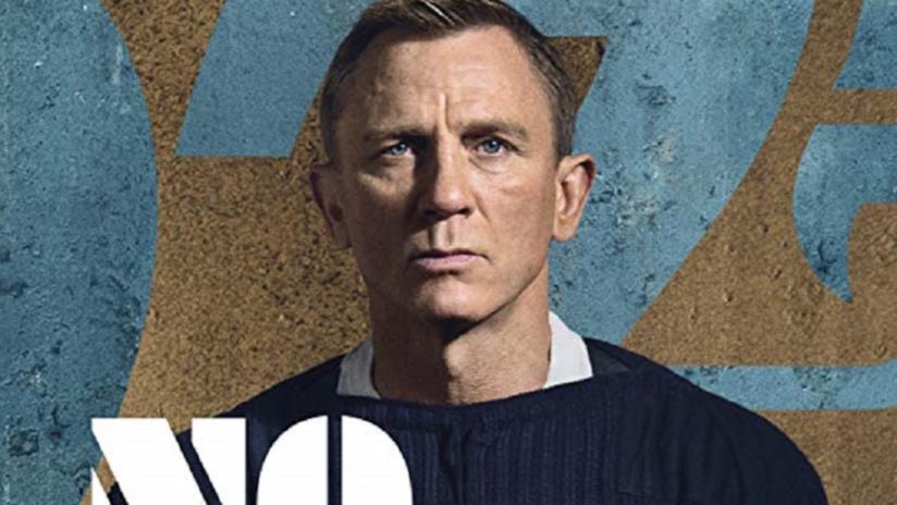 Primo piano di Daniel Craig come James Bond