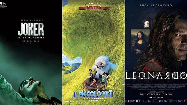I poster di Joker, Il piccolo yeti e Io, Leonardo