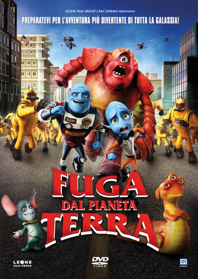 Poster del film Fuga dal Pianeta Terra