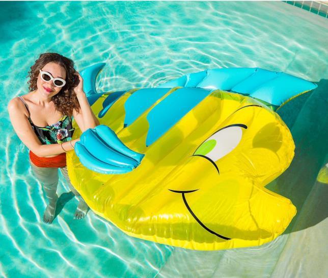 Gongiabile galleggiante a tema Flounder