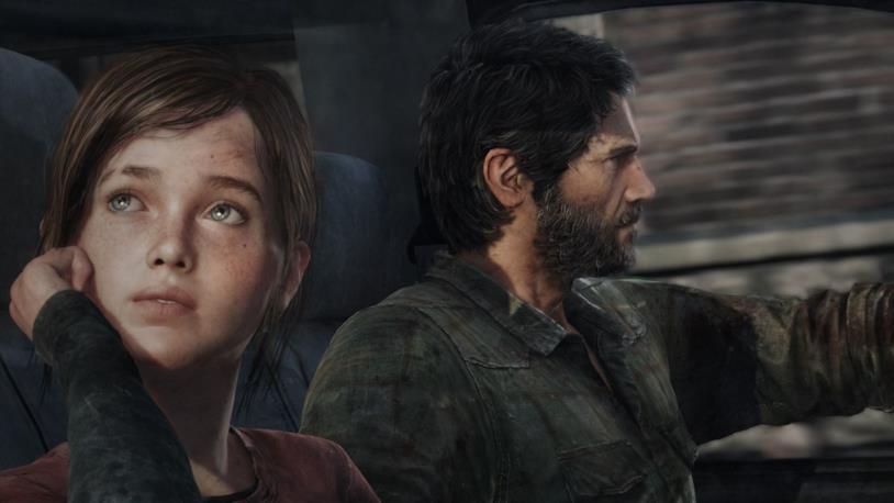 Ellie e Joel da The Last of Us