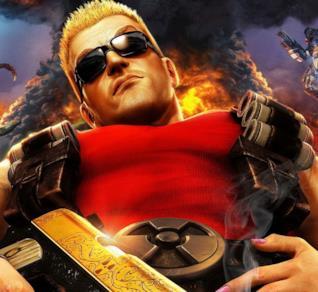 Immagine disegnata di Duke Nukem tratta dal videogioco