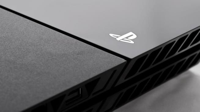 Un close up della PlayStation 4 di Sony