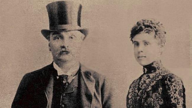 James Maybrick e la moglie Florence