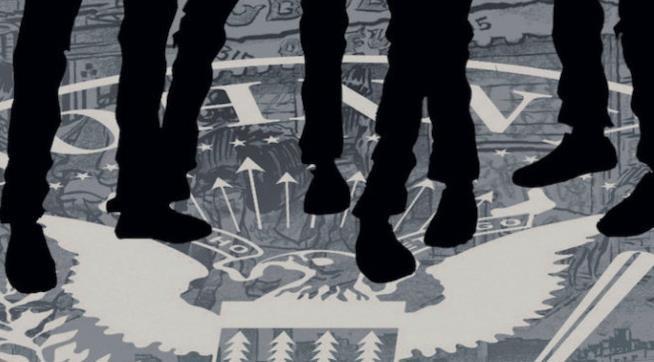 La copertina di One! Two! Three! Four! Ramones!