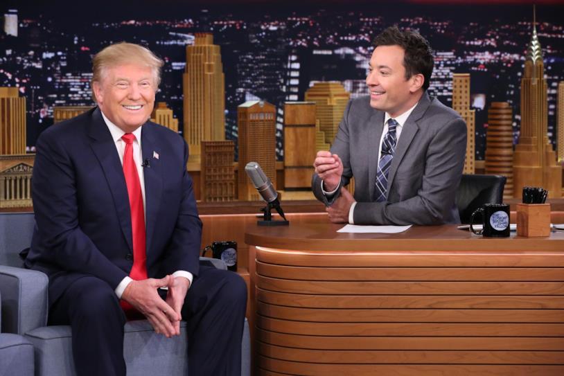 Donald Trump ospite di Jimmy Fallon