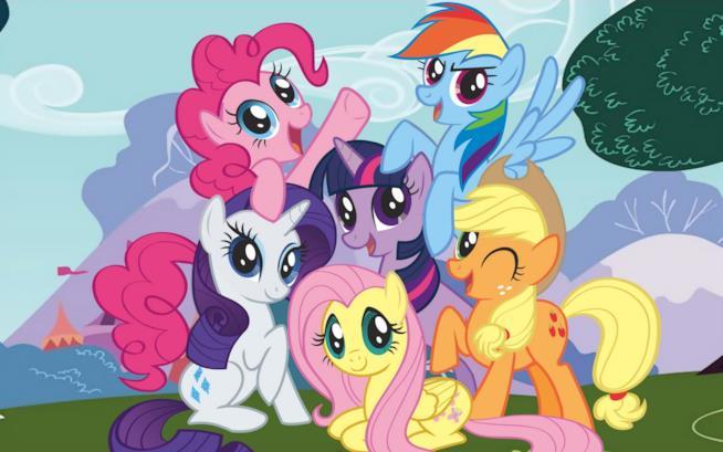 I protagonisti della serie animata My Little Pony