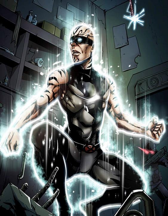 Svanitore nei fumetti Marvel