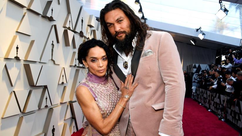 Jason Momoa e Lisa Bonet agli Oscar 2019