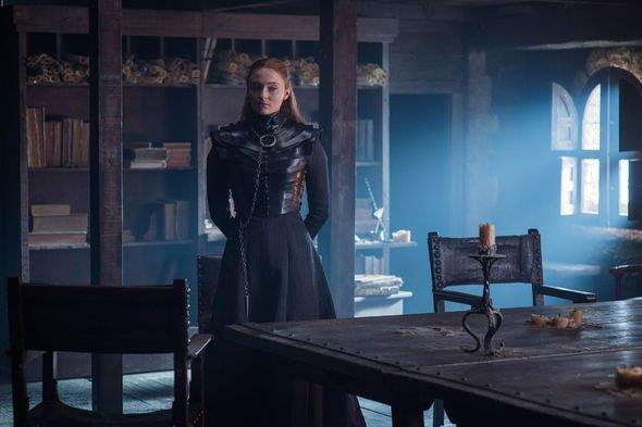 Sophie Turner nei panni di Sansa Stark