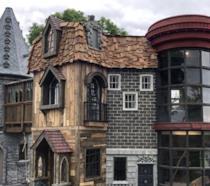 Un'immagine della casa dei giochi di Harry Potter