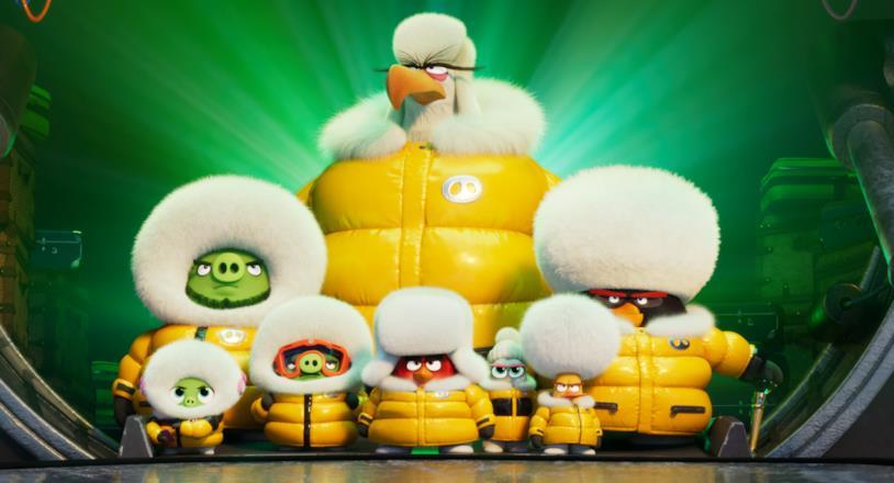 i protagonisti di Angry Birds 2 - Nemici amici per sempre