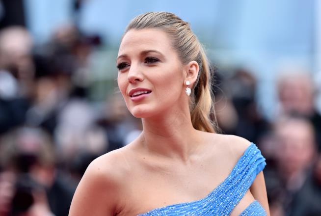 Primo piano di Blake Lively a Cannes